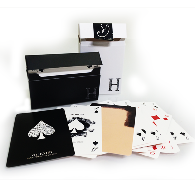 YU HO JIN manipulation cards (white)