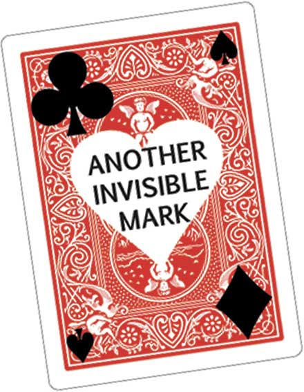 ANOTHER INVISIBLE MARK