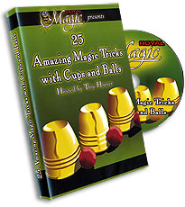 25 AMAZING TRICKS WITH CUPS & BALLS - DVD