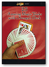 25 AMAZING MAGIC TRICKS WITH A SVENGALI DECK - DVD