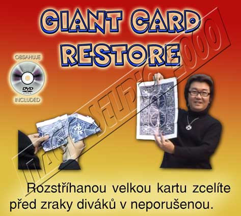 GIANT CARD RESTORE + DVD