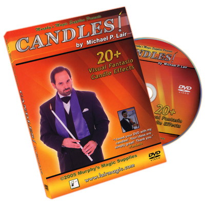 MICHAEL LAIR - CANDLES! DVD