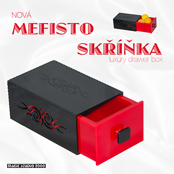 MEFISTO SKŘÍŇKA - LUXURY DRAWER BOX