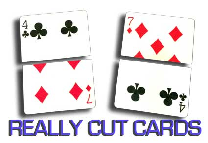 REALLY CUT CARDS