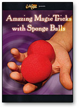 AMAZING MAGIC TRICKS WITH SPONGE BALLS - DVD
