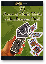 25 AMAZING TRICKS WITH A STRIPPER DECK - DVD