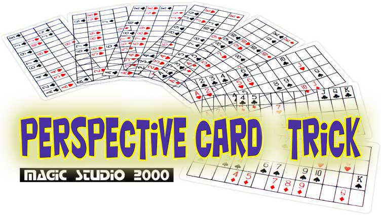 PERSPECTIVE CARD TRICK