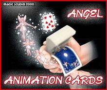 ANGEL ANIMATION CARDS + DVD