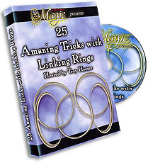 25 AMAZING TRICKS WITH LINKING RINGS - DVD