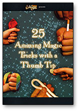 25 AMAZING MAGIC TRICKS WITH A THUMB TIP - DVD