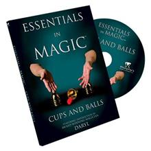 ESSENTIALS IN MAGIC CUPS & BALLS - DVD