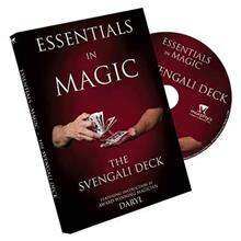 ESSENTIALS IN MAGIC SVENGALI DECK - DVD